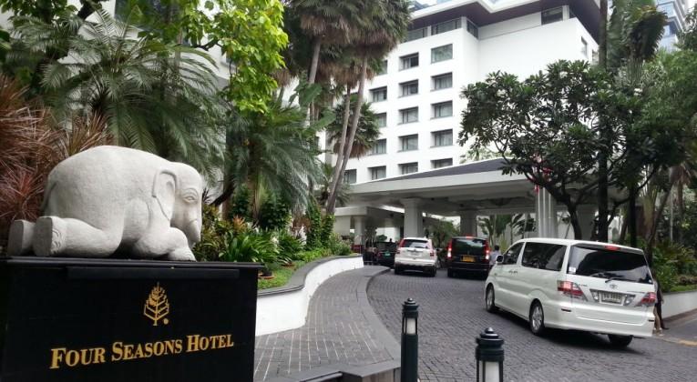 Welcome to Four Seasons Bangkok