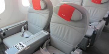 Norwegian Boeing 787 Dreamliner Premium Cabin