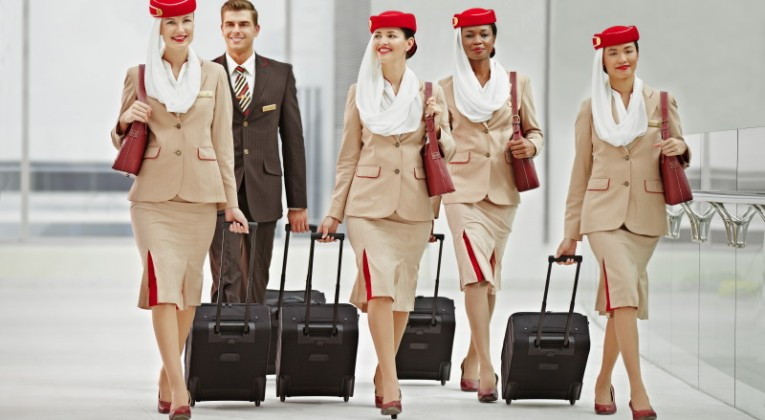 Emirates Cabin Crew group
