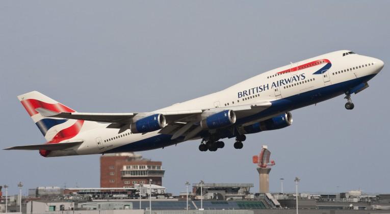 British Airways B747