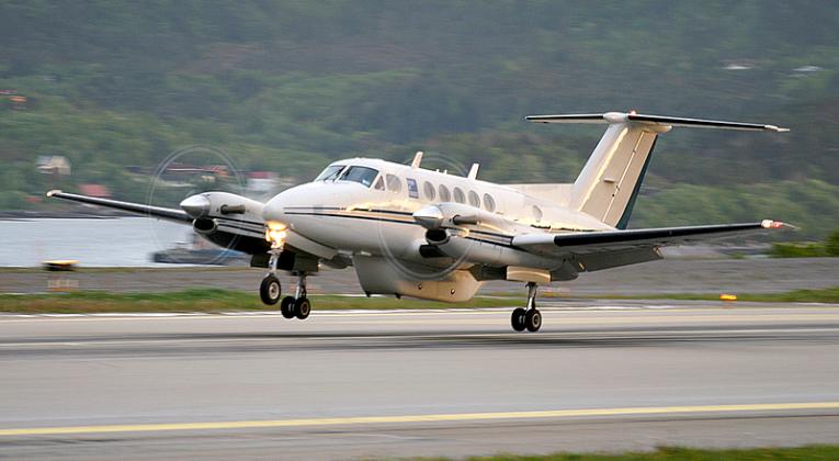 """Beechcraft King Air B200. Foto: """"KS-U92"""", Wikimedia."""