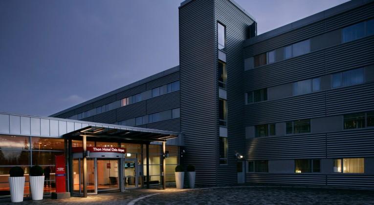 Thon Oslo Airport - fasade