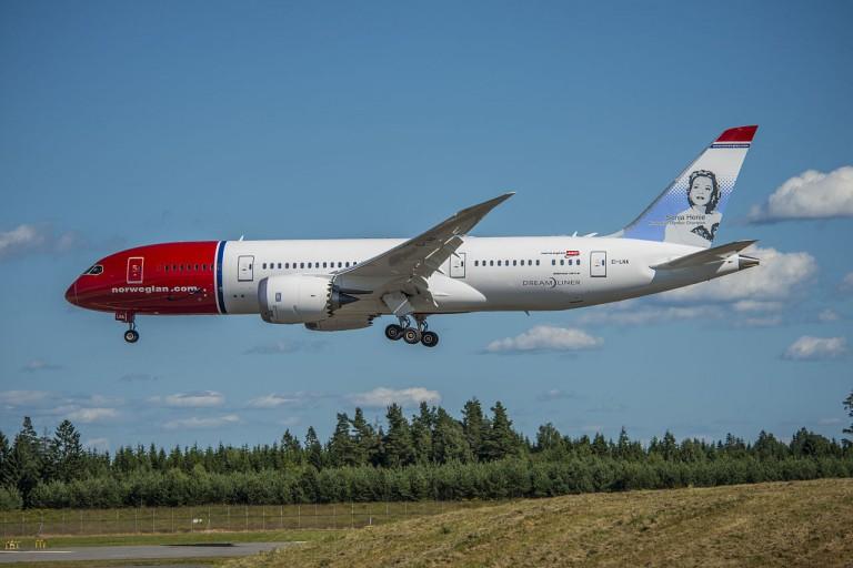 Dreamliner, en av Norwegians nye Boeingfly