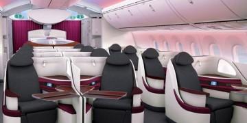 Qatar Airways Boeing 787 Dreamliner Business Class