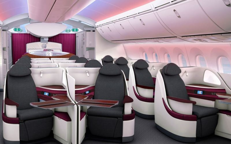 Qatar Airways Airbus A350-900 Business Class