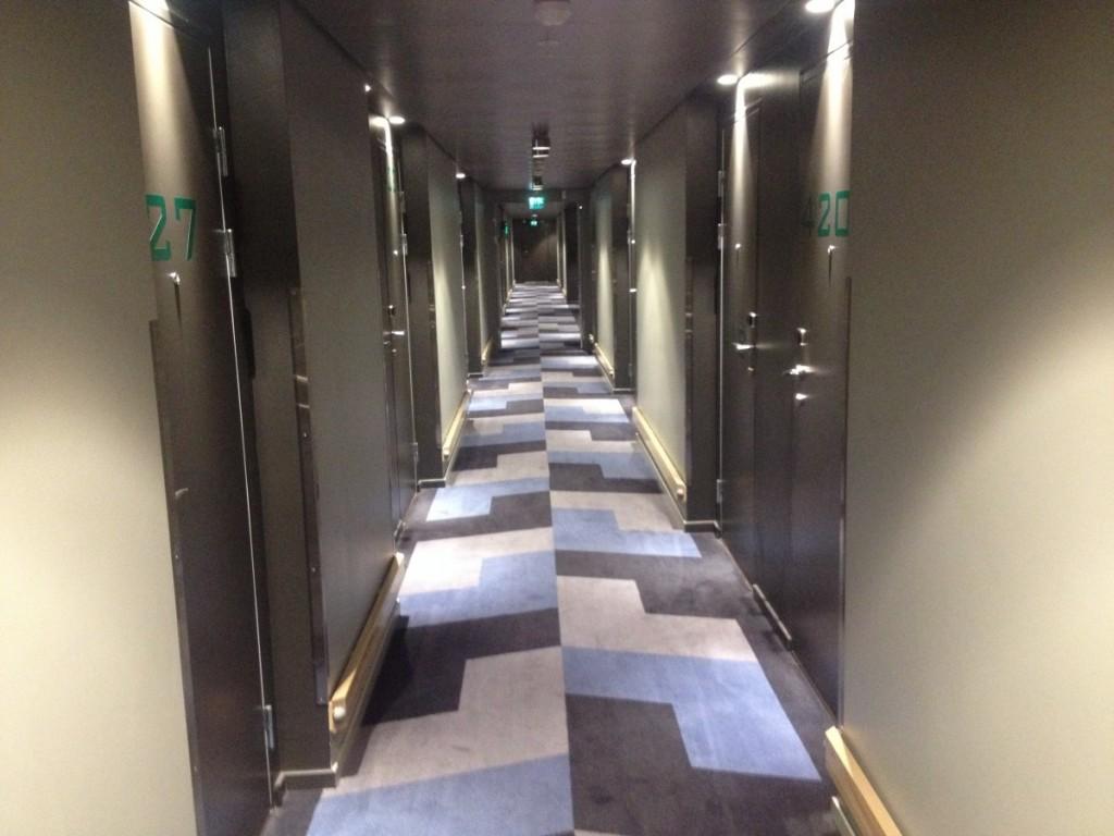 Korridoren i 4. etg.