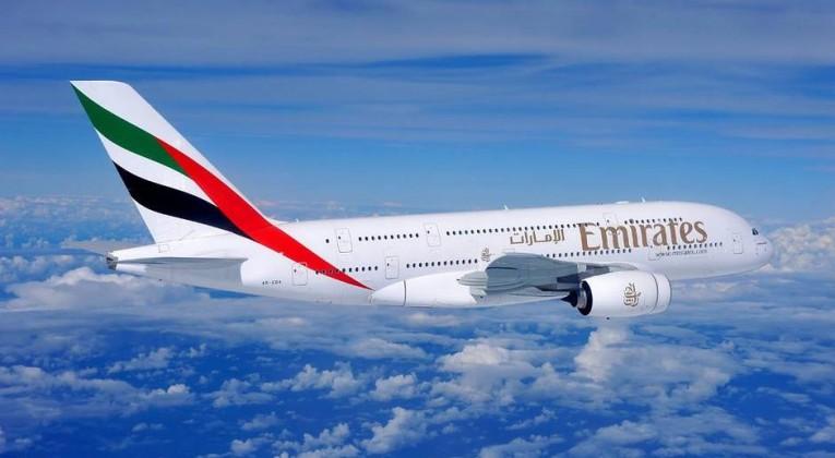 Emirates+a380