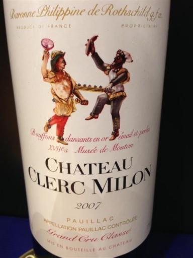 baron-philippe-de-rothschild-chateau-clerc-milon-pauillac 2007
