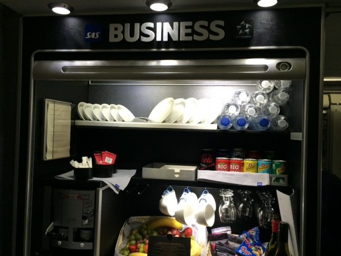 SAS Business snackbar.