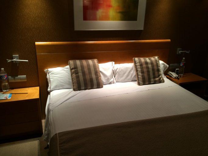 En godkjent seng som hverken var for hard eller for myk.