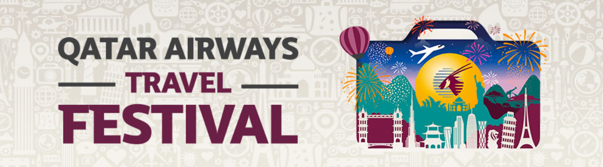 Qatar Airways Travel Festival original