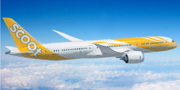 Scoot Boeing 787 Dreamliner