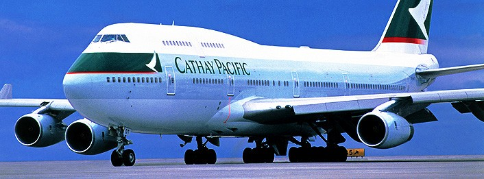 Pensjonist - Cathay Pacific B747 - (C) Cathay Pacific media