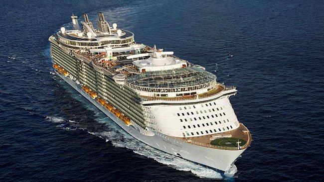 Oasis klassen skip © Royal Caribbean Cruise Lines