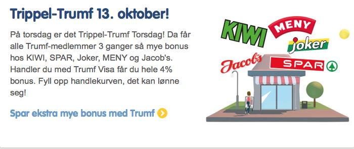 Skjerm-dump www.trumf.no