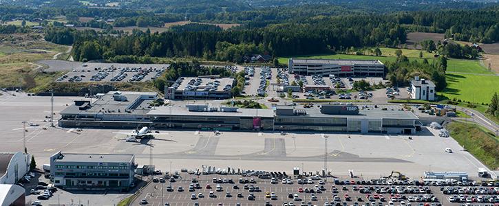 Sandefjord Lufthavn - Torp  Foto: Torp