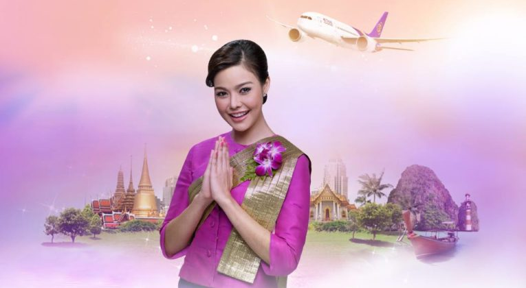 Thai Airways fyller 57 år med en kampanje