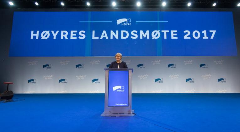 Høyres landsmøte vil avvikle flyplassavgiften