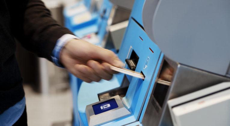 SAS innsjekkingsautomat