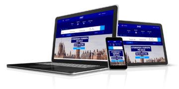 SAS sin nye nettside på PC, mobil og nettbrett