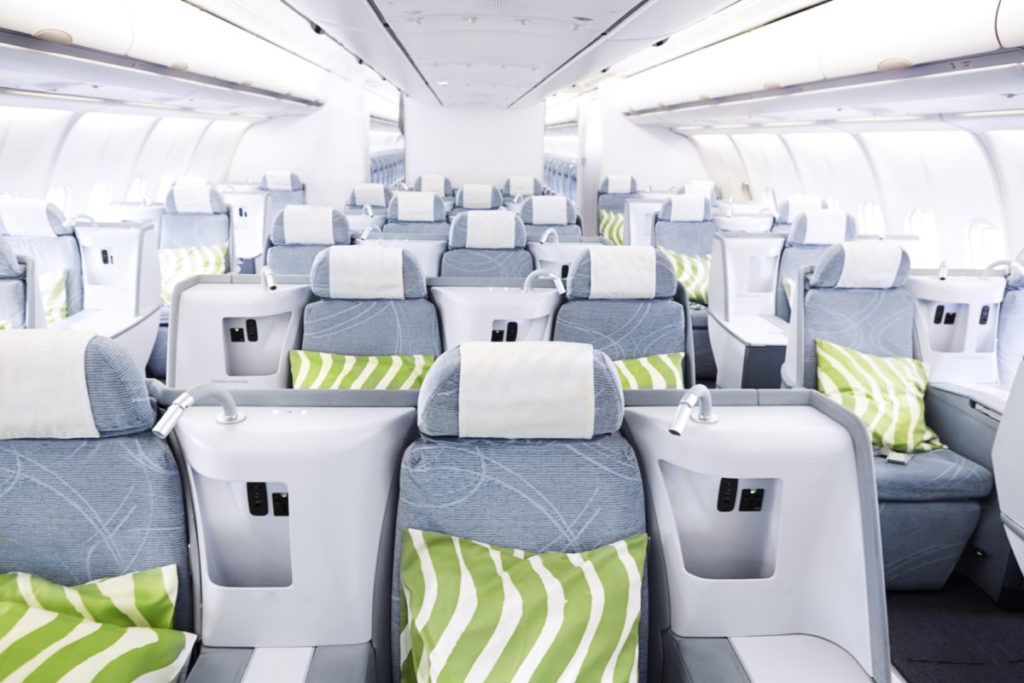 Finnair Airbus A330 business-klasse