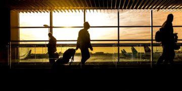 Illustrasjonsbilde passasjer flyplass. Creative Commons CC0.