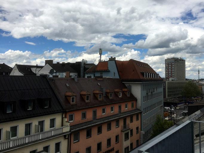 Hotel Schiller5: Utsikt fra balkongen