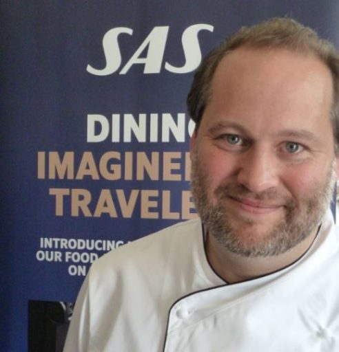 Peter Lawrance, Head Chef & Manager Meal Planning for Onboard Product & Services at Scandinavian Airlines (SAS)