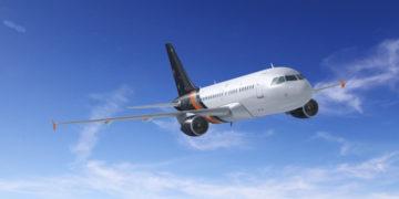Titan Airways Airbus A318 all Business Class
