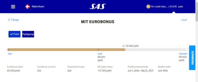 Mye har skjedd i løpet av mine 25 år som EuroBonus-medlem