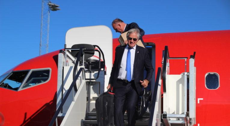 Norwegians første 737 MAX på Oslo Lufthavn