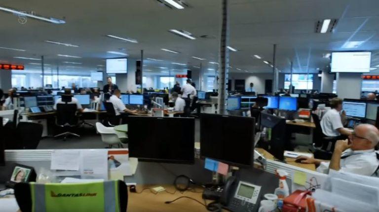 Behind the scenes med Qantas fra London til Sydney