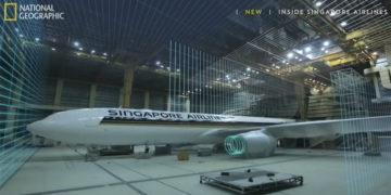Bli med bak kulissene til Singapore Airlines