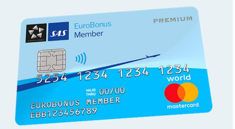 SAS EuroBonus Mastercard Premium