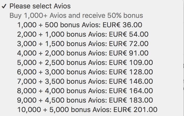 British Airways har denne uken en kampanje hvor du får 50% bonus hvis du kjøper Avios