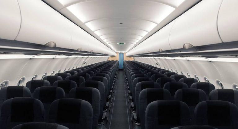 Ny kabin på samtlige fly