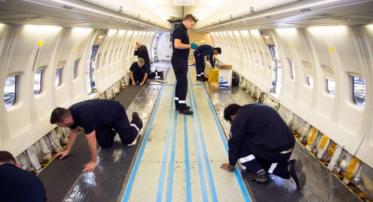 SAS har startet oppgradering av 737-kabinen