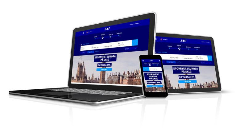 SAS risikerer bøter for sin nye nettside