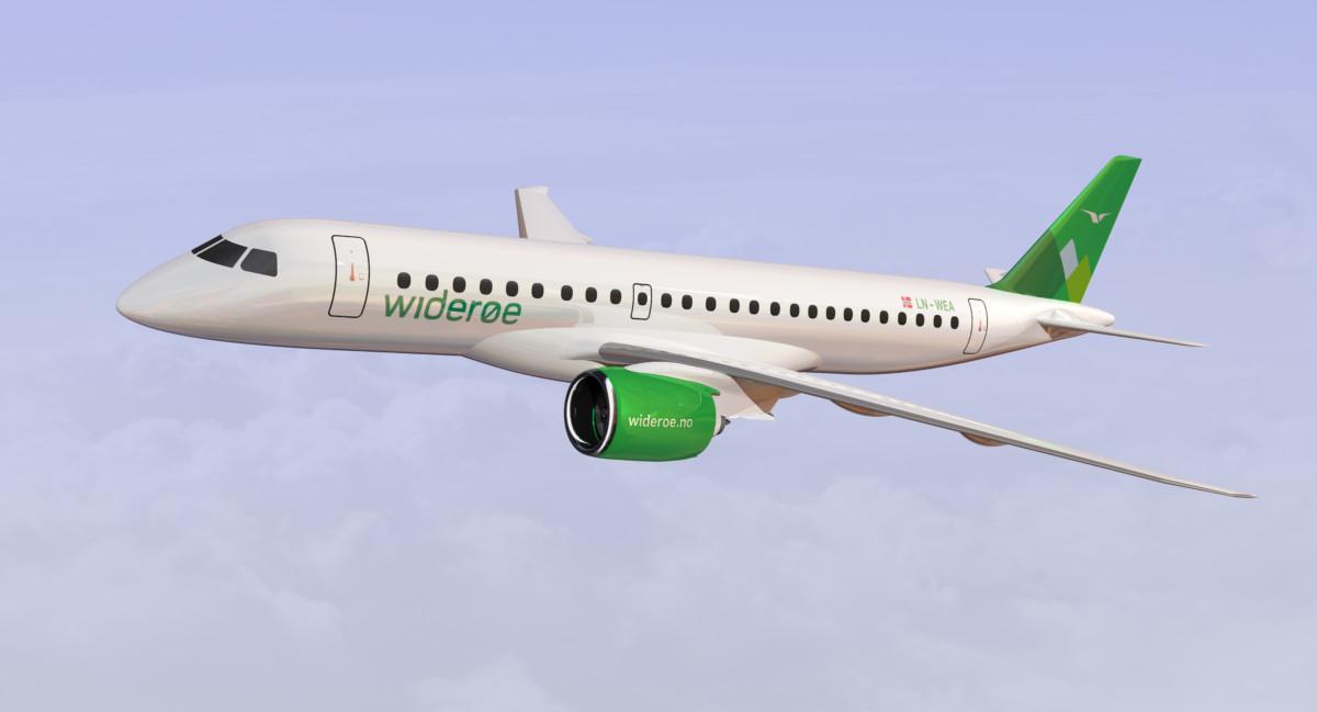 Widerøe Embraer E190-E2