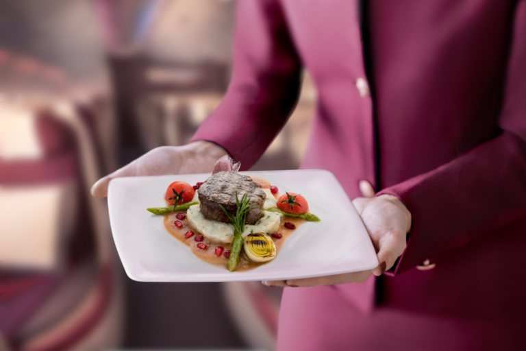 Qatar Airways Pre-Select Dining Onboard