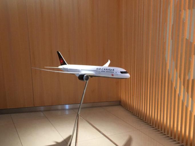 Miniatyr av Boeing 787-8 Dreamliner