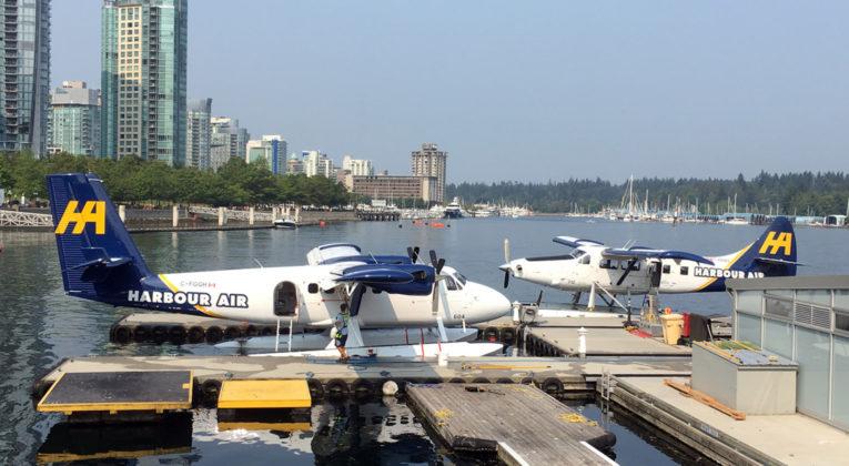 Harbour Air Seaplanes, DHC-3 og DHC-6