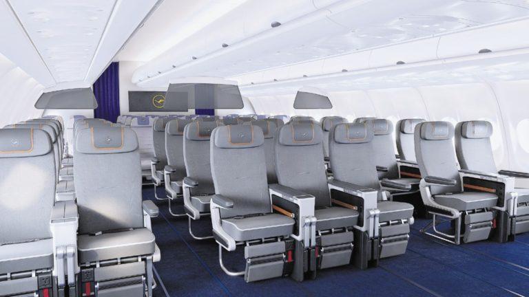 Lufthansa Premium Economy-kabin