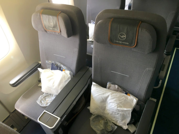 Lufthansa Premium Economy sete