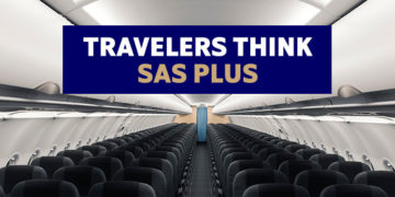 Fly SAS Plus for bare 200 kr ekstra
