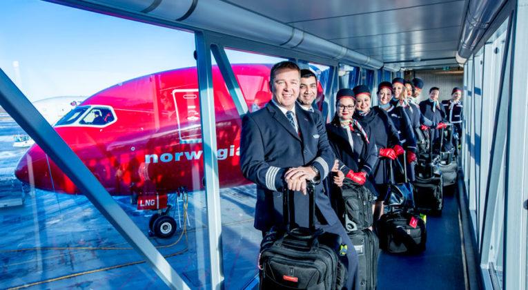 Norwegian og OSM Aviation starter pilotskole i Arendal