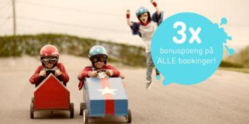 Kun i dag: Triple poeng hos Nordic Choice