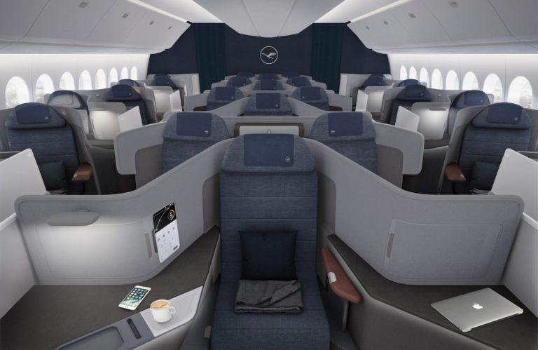 Lufthansas nye Business Class