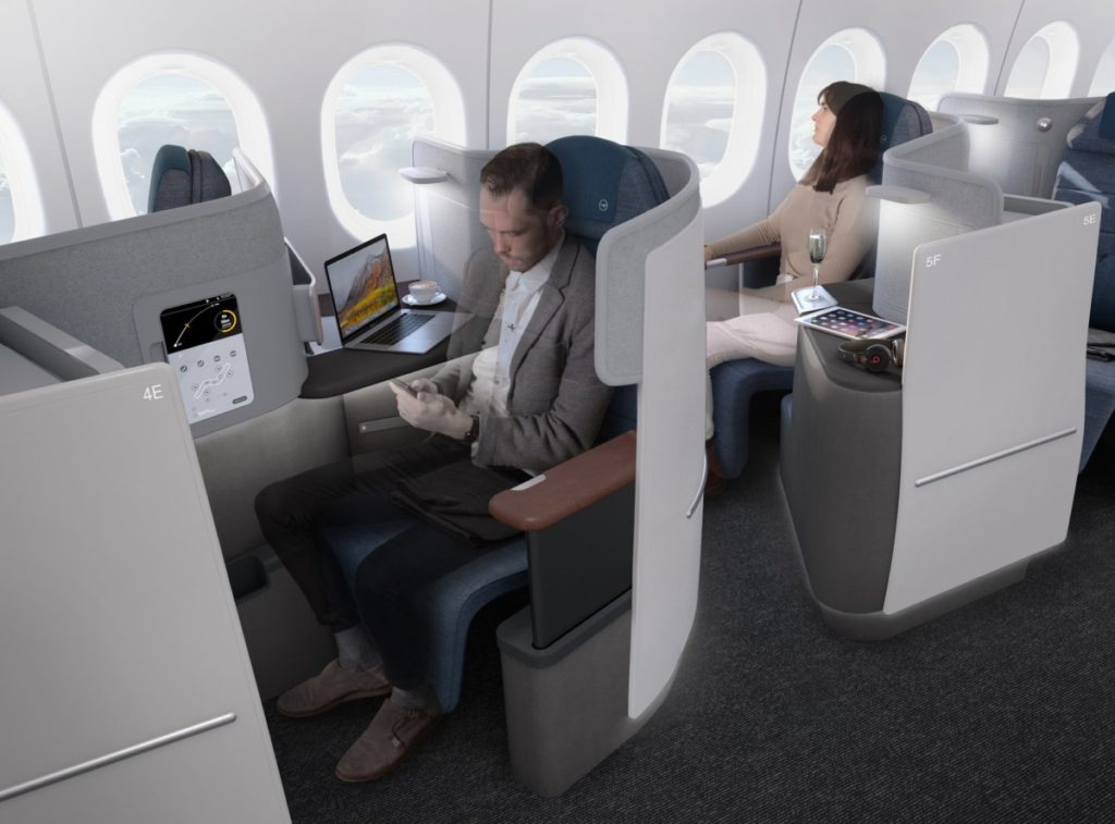 Lufthansas nye Business Class-sete