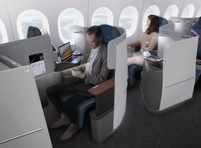 Lufthansas nye Business Class-sete